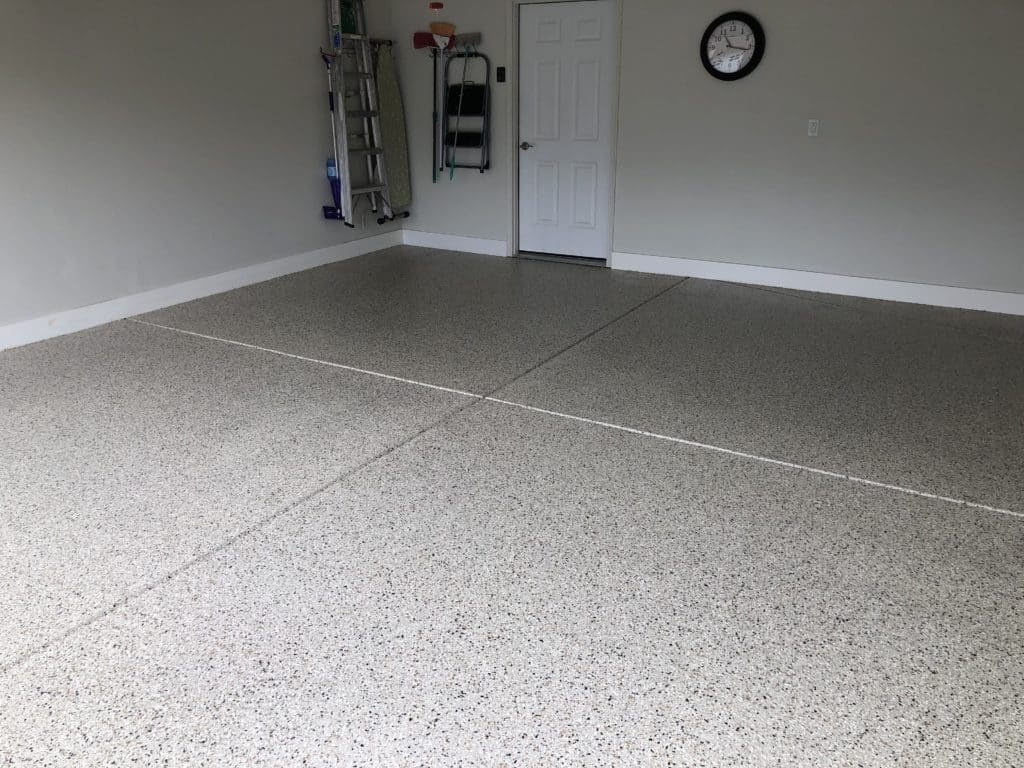 Uneek residential garage flooring