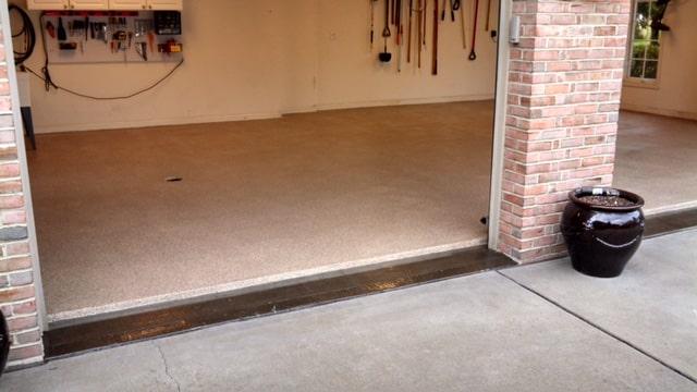 Uneek residential garage flooring